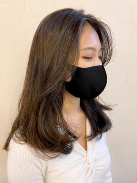 上品大人女性ヘアスタイル*大好評な韓国風デジタルパーマ