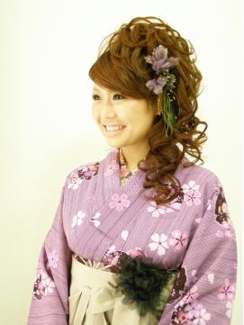 ブリエ☆結婚式スタイル☆カールサイド