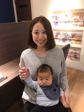 オトナ可愛い♪センターパートボブ エイジング.9