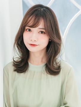 韓国風ヨシンモリセミロング