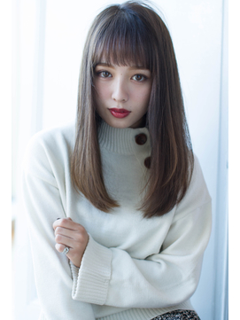 【Reginaviya栄】エアリープラチナストレート@早川