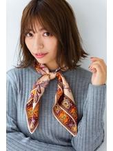 【HONEY 表参道】フェミニン前髪×カジュアルボブ(福島大生).37
