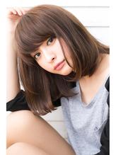 【drive for garden西川】大人モーブカラー・デジタルパーマロブ うるツヤ.24