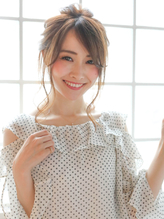 ☆大人可愛い!ゆるふわ編み込みルーズアレンジ☆.11