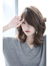 外ハネボブディー×グレージュ【celeste心斎橋店】 デジタルパーマ.35