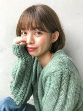 【Unami】つるんと丸みボブ×シースルーバング岸直美 ◇.56