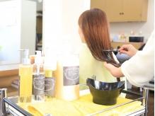 [髪質改善タンパク質トリートメント]でうるつやHairに*