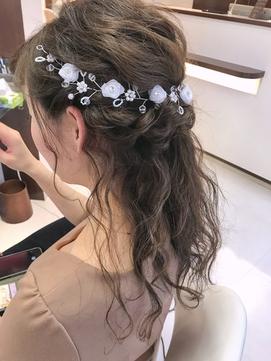 花嫁 ヘアセット
