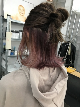 2020年春 ミディアム メッシュのヘアスタイル ヘアアレンジ 髪型