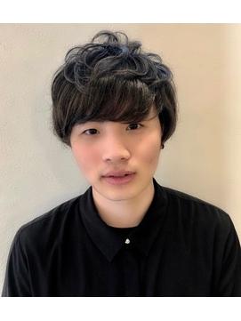 坂口健太郎風★メンズパーマ