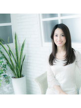 【仲間由紀恵さん風】浮遊感のあるモテモテ小顔愛されセミロング .48