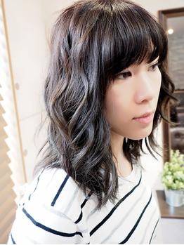 ブラフヘアー(Bluff hair)