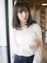 【大人かわいいワンカーボブ】 小顔&暗髪 .43