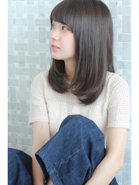 【MINX加茂】OLさんに大人気!美髪ワンカールストレートロブ