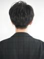 【December】men'sハイナチュラルサイドパートマッシュ