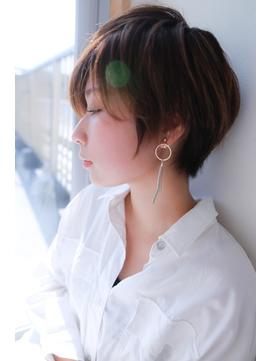[OCEAN Hair&Life]大人かわいい☆マニッシュショート☆