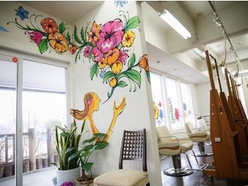 花やの前の美容室 南アルプス店(山梨県南アルプス市/美容室)