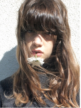 Ines ◆CUT × ブリーチなしダブルカラー