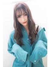【Lufeli】伊藤 とろみ質感*シースルーバング*ルーズロング .17