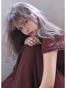【Blanc/栄】ロングレイヤー_シースルーカラー_ロング