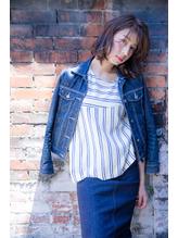 【新百合】丸みショート無造作カールボブディイルミナカラー41.26