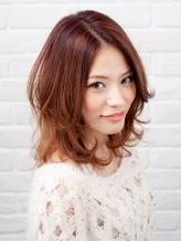 頭皮&髪に優しく、美髪を守る♪【カット+カラー+ケラスターゼトリートメント+炭酸泉 ¥12420~⇒¥10800~】