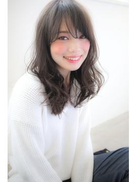 【story】ナチュフェロ☆外国人風グレージュウェーブ