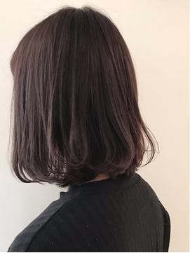 【neolive tiaLa/下北沢】暗髪ボブ♪ラベンダーグレージュ◯