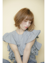 スタイリング簡単♪軽やかボブカット.5