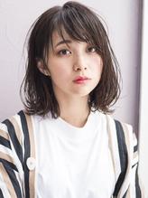 セミウェットな抜け感ボブ5*小顔◎ GAFF表参道 岡田道好.27