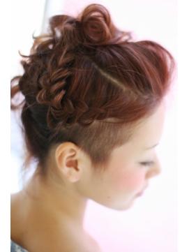 ★Ms hair★rock'n set up♪