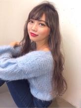 【Real 遠藤眞実】外国人風アッシュグレージュカラー×ロング☆ カントリー.19
