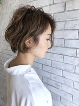 『celilo 小後貫 文暁』 イルミナカラーで柔らか質感ショート☆.45