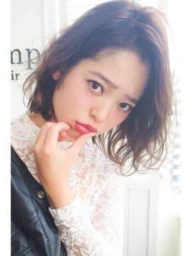 【lamp hair 】外国人風ウェーブ×グロッシー♪No.2