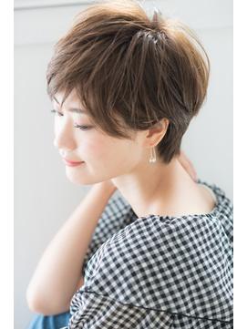 【Rire-リル銀座-】ひし形シルエットのエアリーショートボブ☆彡