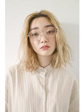 【AO】シアーホワイト無造作カールヘア◎.3