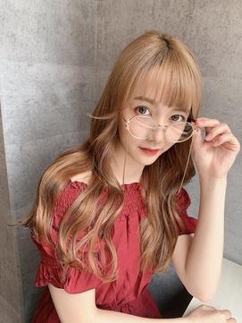 10代、20代◎大人可愛い韓国風前髪シースルーローレイヤー