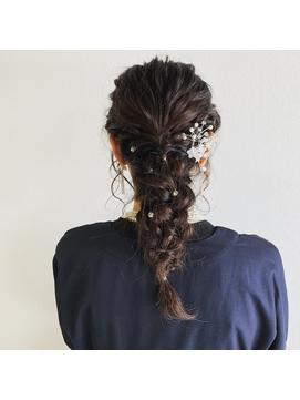 【guerir hair+care】編みおろし