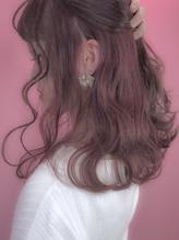 【CHELSEA】ハイインナーカラー★イルミナカラー★cream pink.46