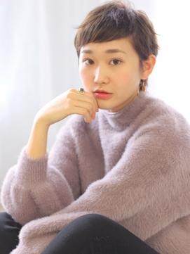 〔磯野真由美〕やわ髪ヘルシーショート☆