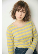 【sand絹村】ノーブルボブ毛先ワンカールデジタルパーマ うるツヤ.21
