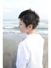 30代 40代 50代 人気 大人 モード 黒髪 ベリーショート.9