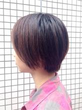 暗髪&黒髪に似合うラフフェアリーショートボブ! 涼しげ.15