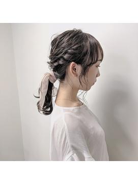 ローポニー × スカーフ 《 北野莉亜 》