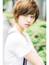 【Noah銀座】カジュアル×マッシュショート=艶可愛いヘア☆☆☆ ボーイッシュ.34