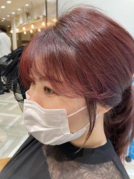 韓国ヘア☆エギョモリ☆小顔ヘア