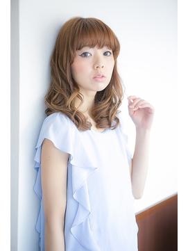 【美容室へアマックス 釧路】伸ばしかけ 無造作 カール セミディ