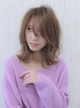 ☆フェアリーロブ斜めバングバレイヤージュ by PACO.13