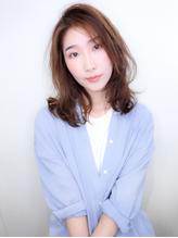 【NYNY】透明感たっぷり朝楽チンミドルヘア.8
