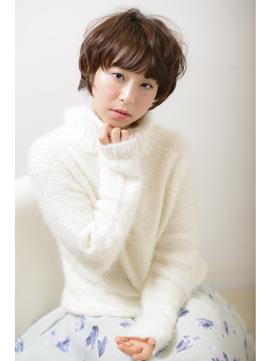 【シースルーバング】小顔×愛されショート☆